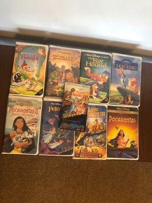Vintage Disney VHS Tapes! for Sale in Glendale, AZ