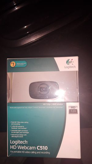 Logitech HD Webcam C510 for Sale in Happy Valley, OR