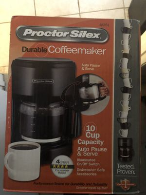Proctor silex coffee maker for Sale in College Park, MD