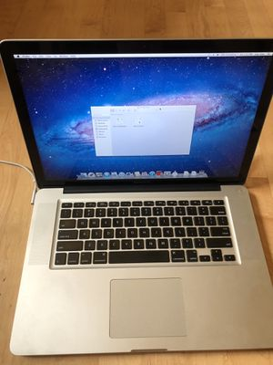 Apple MacBook Pro 15 2011 for Sale in Renton, WA