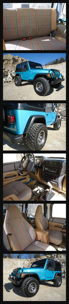 1997 jeep wrangler blue color very clean for Sale in Salt Lake City, UT