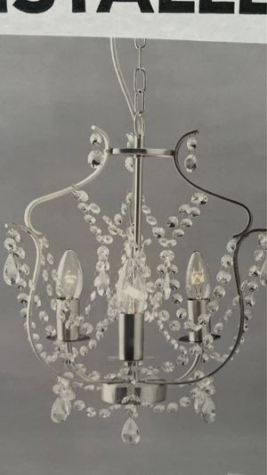 Chandelier new never used for Sale in Midland, TX