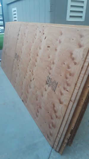 Plywood 4×10×3/8 -- 20 pcs like new ($25 each). for Sale in Riverside, CA