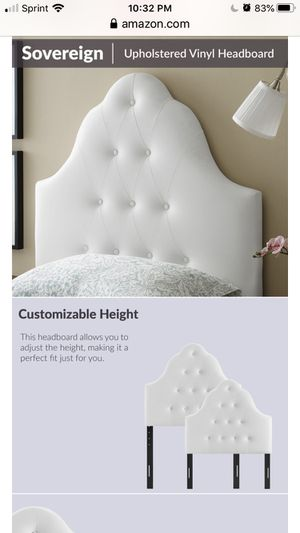 Headboard twin size bed for Sale in Sully Station, VA