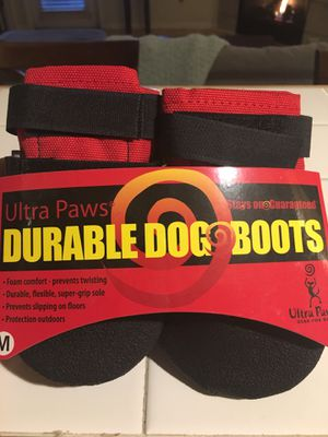 Durable Dog Boots - MEDIUM for Sale in Denver, CO