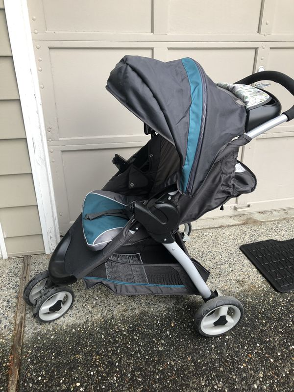 Graco Click Connect Stroller, Car Seat, and Base