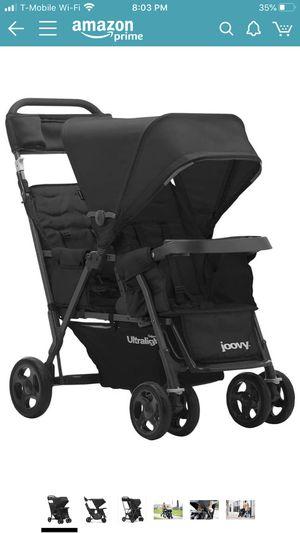Joovy Caboose Ultralight Double Stroller, Black for Sale in Avondale, AZ