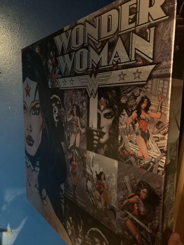 Wonder Woman canvas
