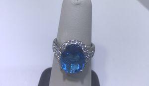 Blue Topaz Ring for Sale in Springfield, VA