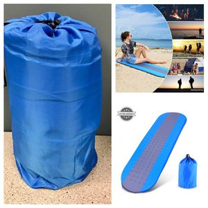 Self Inflating Sleeping Pad Outdoors with Patches and Carrying Bag Ideal for Camping Hiking Traveling HITC for Sale in Stafford, TX