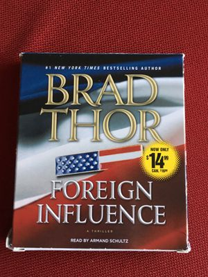 Foreign Influence audio book by Brad Thor for Sale in Clifton, VA