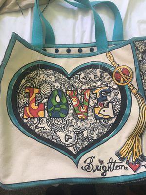 Brighton cloth tote bag for Sale in Macomb, MI