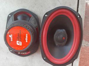 SPEAKERS BOSINAS CERWIN VEGA 6X9 GOOD CONDICIÓN ABLO ESPAÑOL for Sale in Stockton, CA