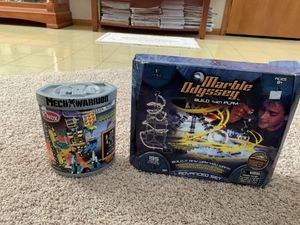 NIB: Knex MECH WARRIOR Dark Age -Converted MiningMech AND USED: Marble Odyssey for Sale in Chippewa Falls, WI