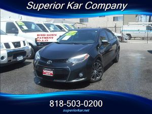 2016 Toyota Corolla S for Sale in Los Angeles, CA