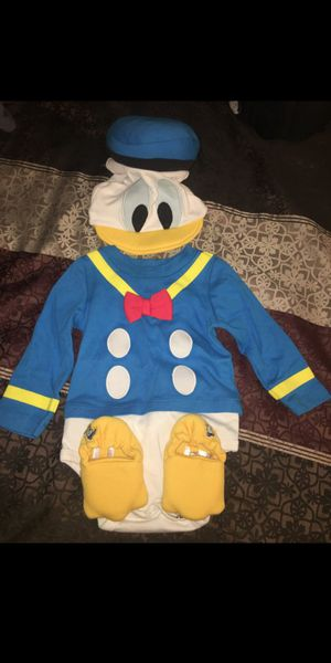 $20 Disney Donald Duck baby costume 9-12 months for Sale in Rosemead, CA