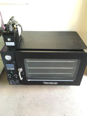 3.2 cu vacuum oven w/ 12cfm pump for Sale in Tempe, AZ
