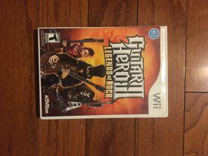 Wii game Guitar Hero 2 for Sale in Herndon, VA