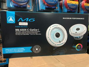 Jl audio m6 rgb marine speakers on sale today message us for the best deals in la today for Sale in Downey, CA