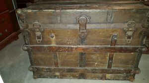 1897 Antique trunk for Sale in Lumberton, TX