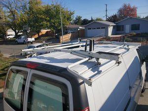 Van ladder rack for Chevy Express. for Sale in Roseville, CA