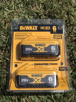 Dewalt 20 volt Max battery pack.....$140..... pickup only..... brand new.... for Sale in Rialto, CA