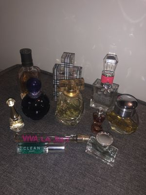 Perfume (Juicy Couture, Burberry, Dior, Clean, etc) for Sale in Phoenix, AZ