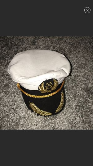 Halloween Costume Captian Hat for Sale in Pennsauken Township, NJ