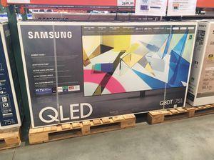"75"" Samsung QLed Q8 smart 4K UHD tv for Sale in Jurupa Valley, CA"