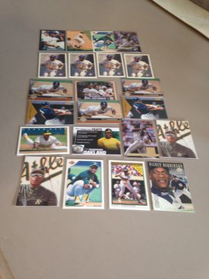 Rickey Henderson Baseball Cards for Sale in Olympia, WA