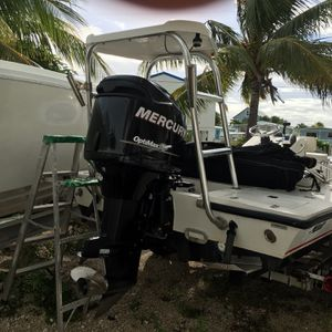 1993 Mako 17.1 Flats Boat 2006Mercury 135 Optimax Runs Great Turnkey !! Nice Aluminum Trailer for Sale in Hialeah, FL
