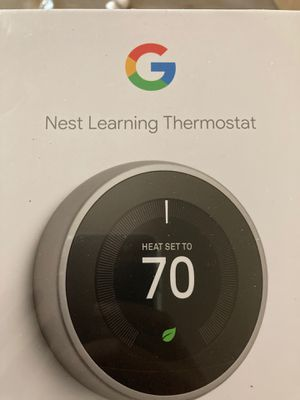 G nest learning thermostat for Sale in Happy Valley, OR