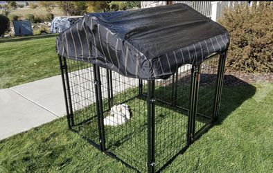 NEW Dog Crate Kennel with UV Cover Heavy Duty Steel Rust Resistant Home for Cats Pets Small Animals for Sale in Oklahoma City,  OK