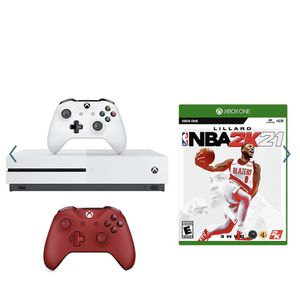 Xbox One S Console with NBA 2K21 + Controller Bundle. for Sale in Miami, FL