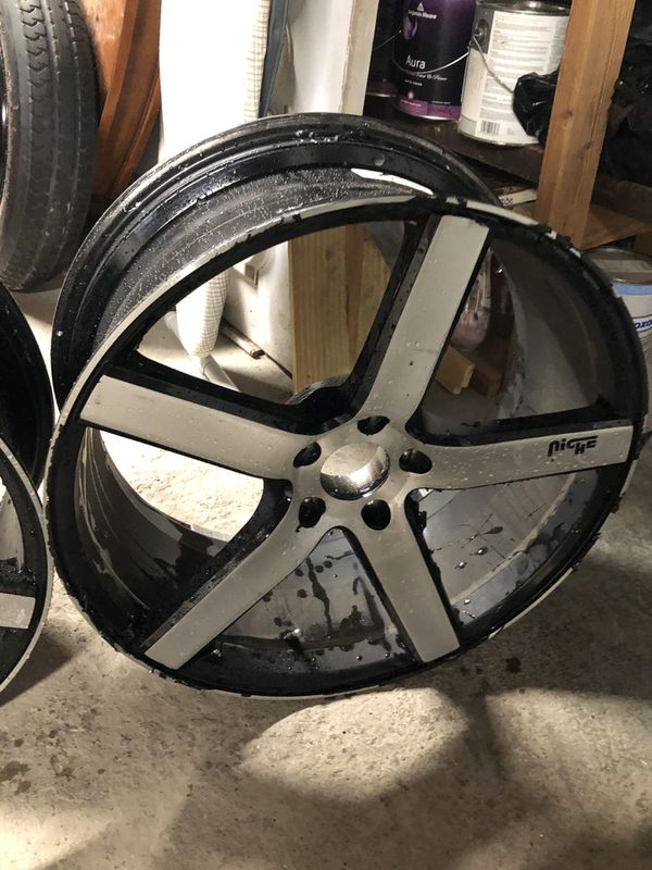 """20"""" Niche Rims only (2 wheels only)"""