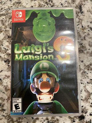 Luigis mansion 3 Nintendo Switch for Sale in San Antonio, TX