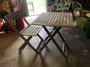 Outdoor patio table table & 4 chairs for Sale in Fullerton, CA