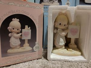 Precious Moments - Loving You Dear Valentine Figurine for Sale in Strongsville, OH