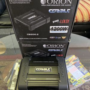 Orion Car Audio . Car Stereo Amplifier . 1200 watts . High Quality . New Years Super Sale . $79 While They Last . New for Sale in Mesa, AZ