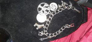 Sterling silver vintage Monet charm bracelet for Sale in Liberty Lake, WA
