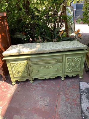 Antique chest oak wood for Sale in Oakland, CA