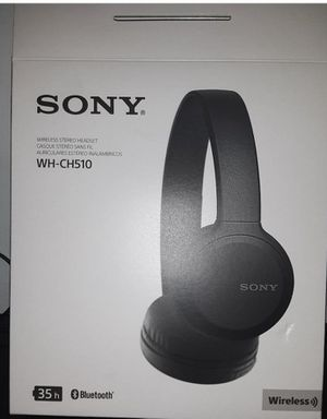 New Sony Wireless Headphones WH-CH510 for Sale in Escondido, CA