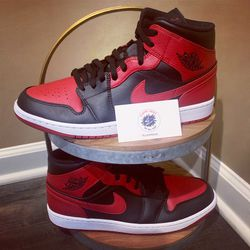 Brand New Jordan 1 Mid (banned) for Sale in Murfreesboro,  TN