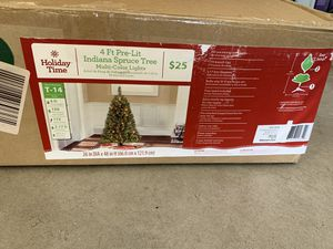 Pre-lot Christmas tree - used once for Sale in Santa Maria, CA