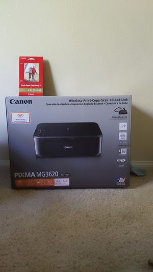 New Canon Wireless Print-Copy-Scan + Cloud Link Printer With ink for Sale in Rancho Santa Fe, CA