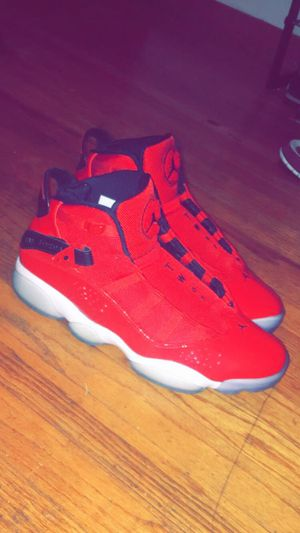 Jordan's six ring brand new worn twice other Jordan pair fair condition for Sale in Bethlehem, PA