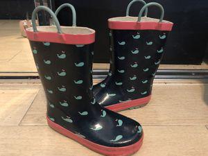 Girls jelly rain boots size 12 for Sale in Miami, FL