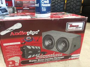 12 Inch Audio Package in a Box for Sale in Fayetteville, GA