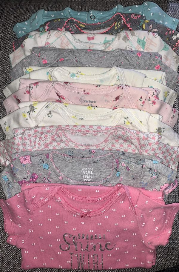 12 MONTH OLD LOT - Baby Girl Clothing