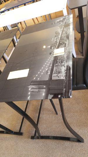 Glass Top Brooklyn Bridge Desk for Sale in Phoenix, AZ
